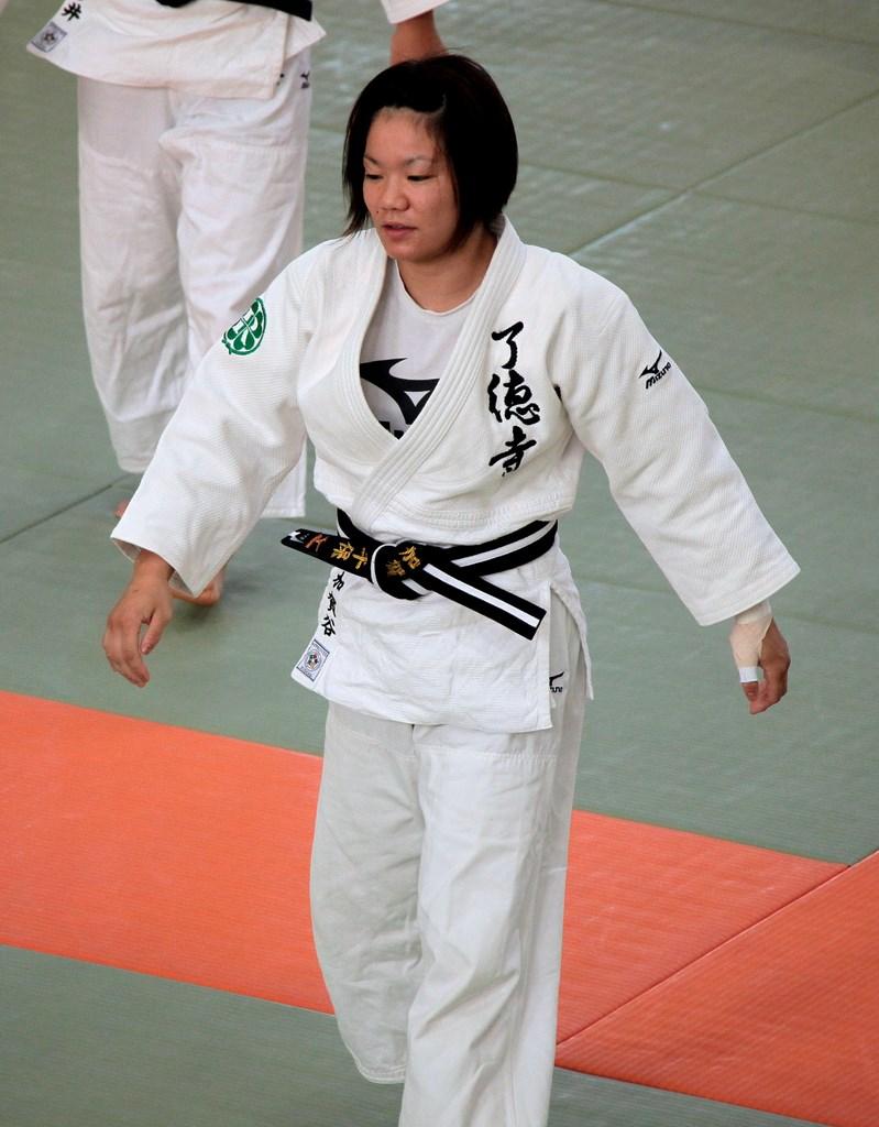 Rencontre d'une femme qui aime le judo