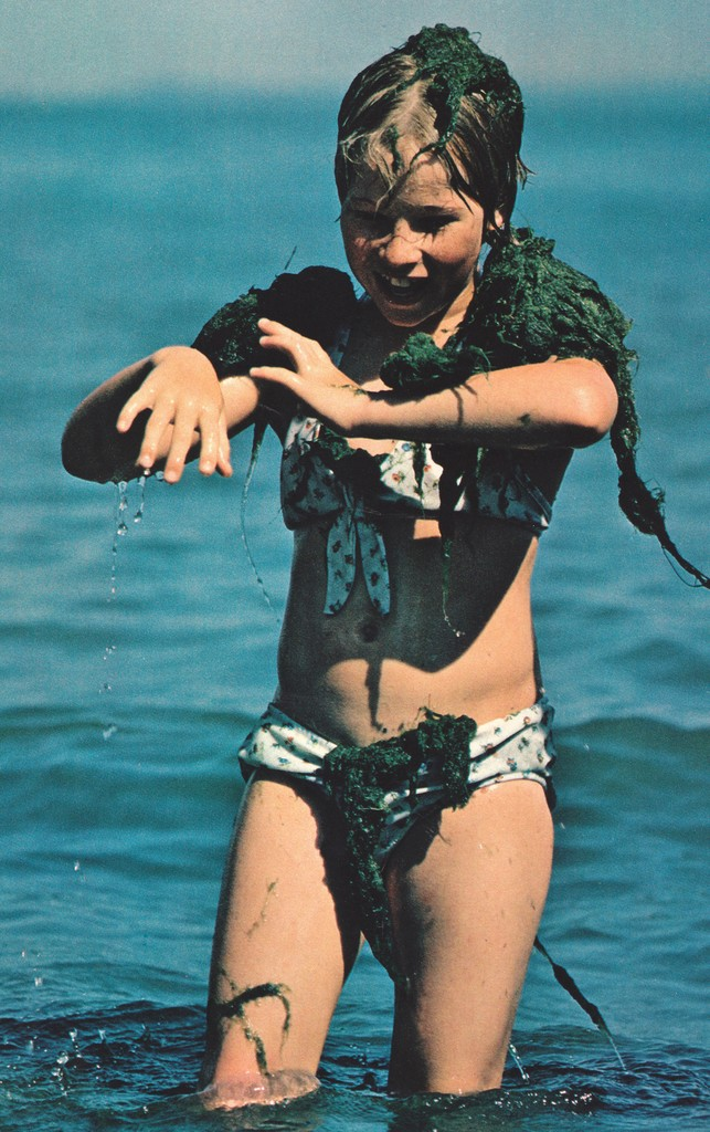 National Geographic July 1978 lake Erie Put in Bay young girl