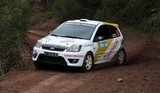 Ford fiesta racing car New Caledonia 2014 APRC