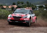 Škoda Fabia Super 2000 rally car Motorsport New Caledonia APRC 2014