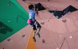 United Kingdom of Great Britain and Northern Ireland competitor IFSC world youth championships lead and speed Climbing Noumea 2014 New Caledonia