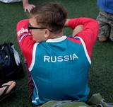 Russia Team Member IFSC Climbing world youth championships Noumea 2014 New Caledonia