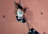 Canadian competitor IFSC world youth championships lead and speed Climbing Noumea 2014 New Caledonia