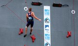 Czech male competitor IFSC world youth championships lead and speed Climbing Noumea 2014 New Caledonia