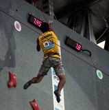 Ecuador competitor IFSC world youth championships lead and speed Climbing Noumea 2014 New Caledonia
