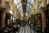 Royal Arcade heritage shopping arcade central business district of Melbourne, Victoria, Australia