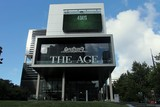Daily newspaper The Age 250 Spencer Street Melbourne Australia