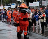 Australia Day 2015 Melbourne Victoria  State Emergency Service Paddy Platypus