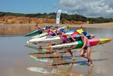 Torquay Beach Paddleboarding competition Australia