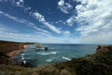 Gibson Steps beach and cliffs Port Campbell National Park Victoria Australia