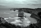 The Twelve Apostles collection of limestone stacks off the shore of the Port Campbell National Park