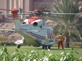 Helicoptere GP F1 Emirates palace Abu Dhabi UAE  fire fighting law enforcement paramilitary military roles hot high