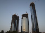 Abu Dhabi Etihad Towers building United Arab Emirats