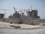Abu Dhabi construction - Emirats Arabes Unis
