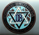 Logo Dodge Brothers Detroit USA American brand of automobiles