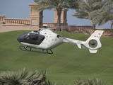 Helicoptere GP F1 Emirates palace Abu Dhabi UAE A6-FLA EC135 powerful lightweight twin-engine multi-mission helicopter