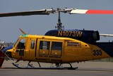 McDermott Aviation Helicopter Bell 214B N1073W Magenta Airport New Caledonia fire fighter