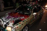 love uae national day abu dhabi car decoration corniche uae 40th anniversary