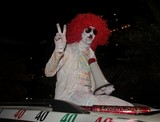 clown in abu dhabi funny people national day 40th anniversary national day