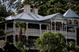 victorian old house Brisbane river Queensland Australia building house