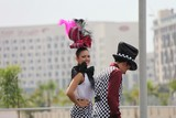 Beautiful Smile in Oasis village - Abu Dhabi Grand Prix F1