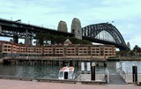 Sydney Harbour Bridge Circular Quay west , Australia