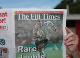 The Fiji Times first newspaper published in the world every day