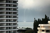 Weather forecast New Caledonia Extrem climat change waterspout Noumea