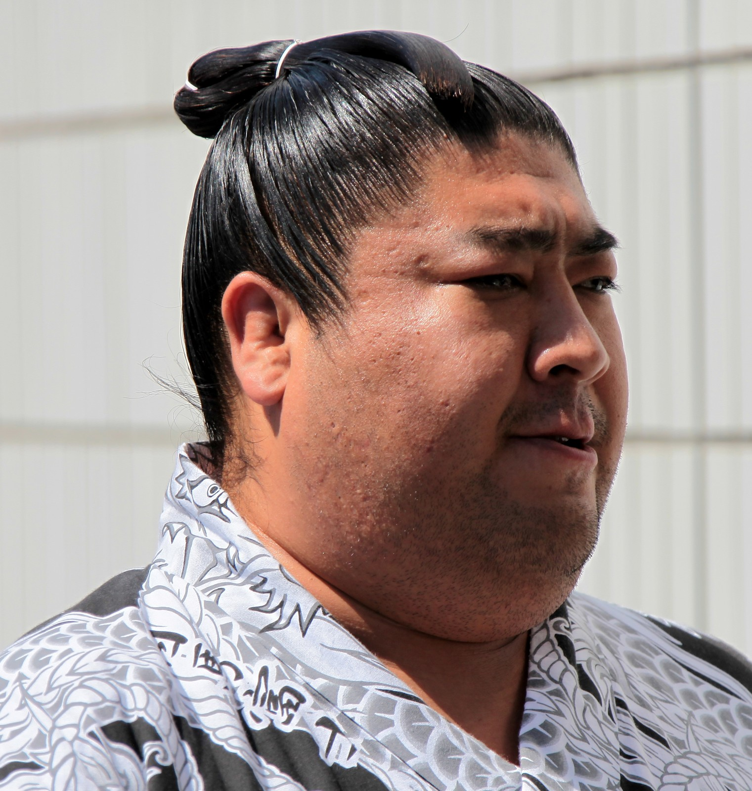 Coiffure sumo rikishi 力士 chon mage chignon Tokyo Japon