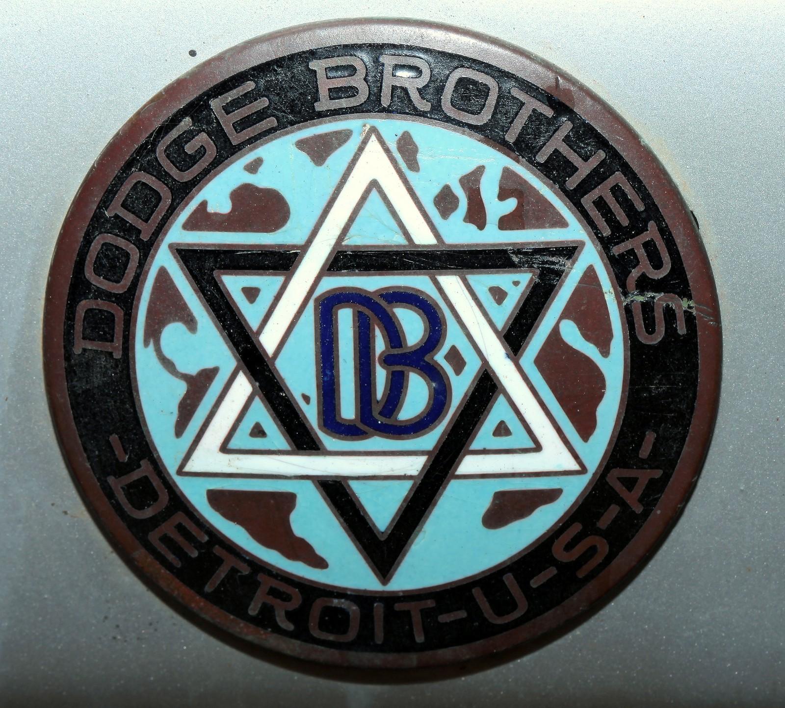 Logo Dodge Brothers Detroit Usa