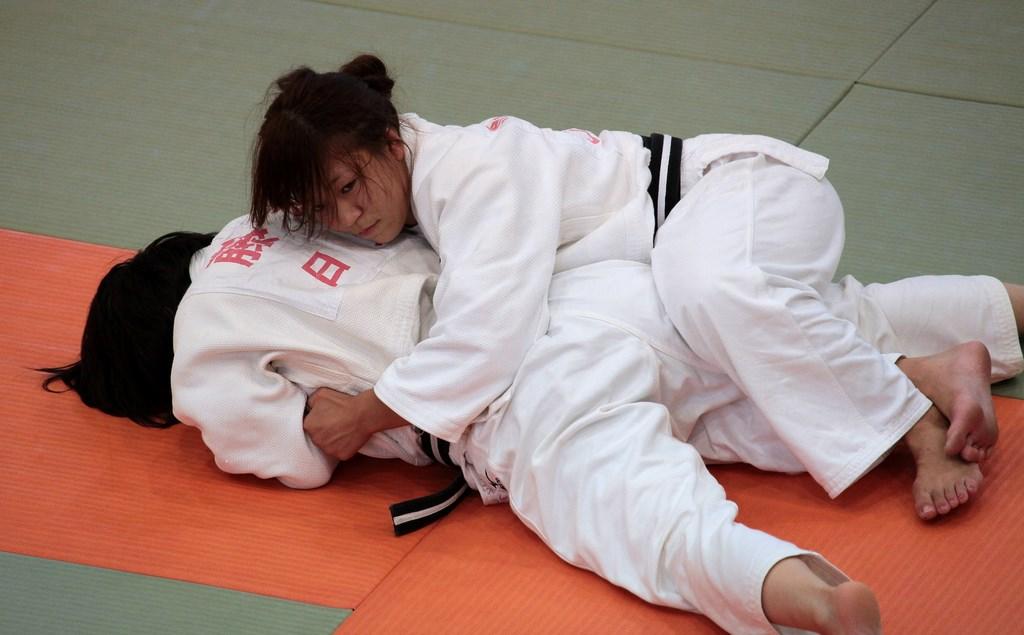 Judo girls femdom